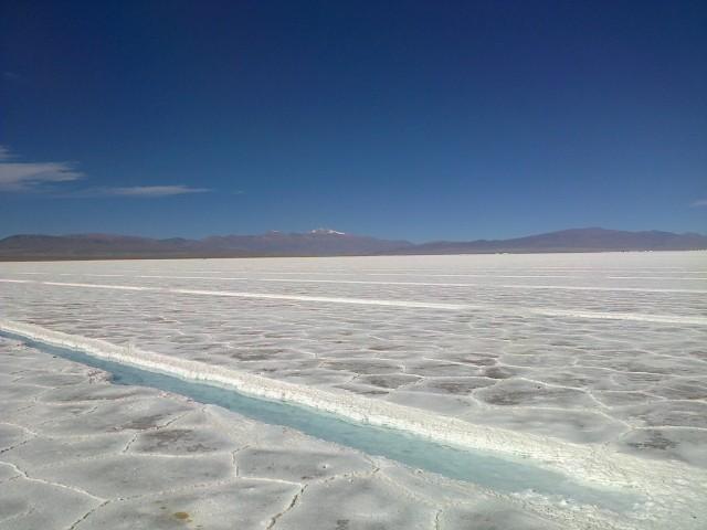 De grote zoutwoestijn in Argentinië!! | Foto