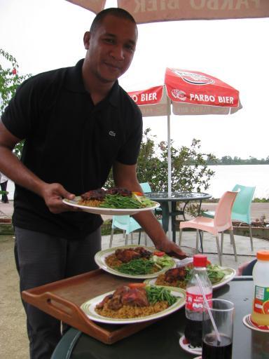 Deze foto werd gemaakt op 31 januari 2012 in paramaribo suriname