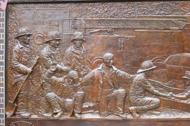 Brandweer Herdenkings Muur Foto Hein En Nanny Koreman