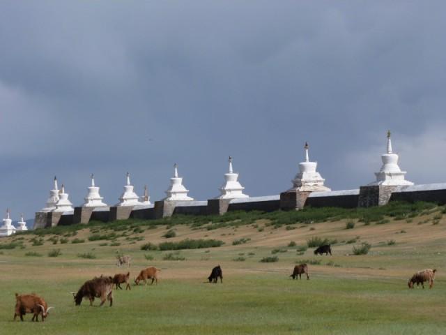 Tempelcomplex in oude hoofdstad van Mongolië | Foto