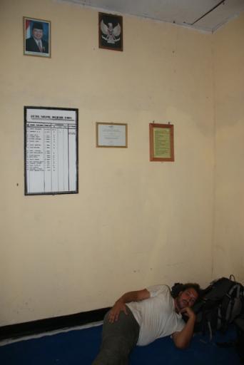 Sleeping at Kantor Polisi