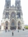 Mooi overzicht kathedraal Reims