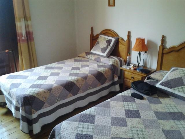 In een mooi pension een kamer voor mijzelf 2 nachten heerlijk foto camino naar santiago - In een kamer ...