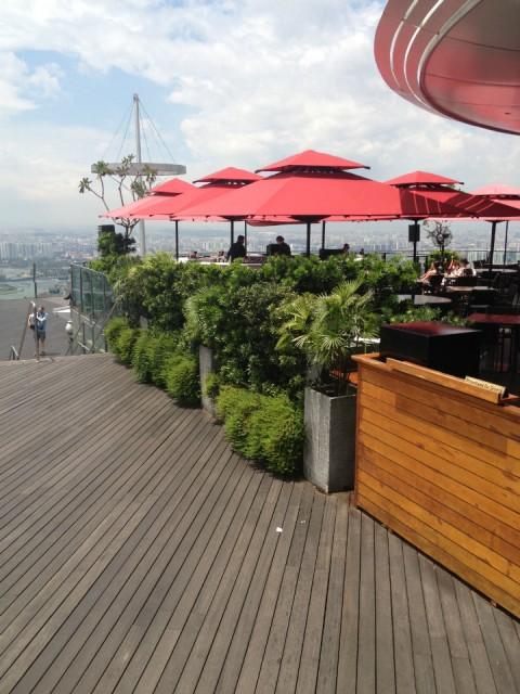 Het hoogste terras van singapore denk ik foto robert van der laan s reisblog - Model van het terras ...