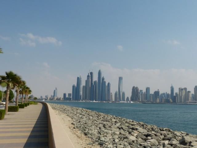 In dubai verenigde arabische emiraten met een panasonic dmc fz150